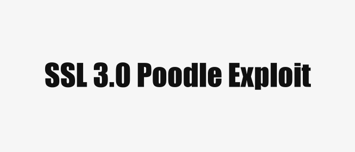 SSL 3.0 Poodle Exploit Explained (non-technical)